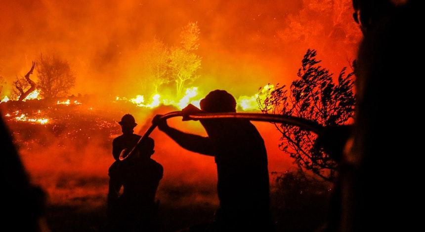 Dominado incêndio em Trancoso