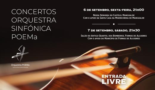 Mangualde e Fornos de Algodres recebem concertos de encerramento do estágio da Orquestra Sinfónica POEMa