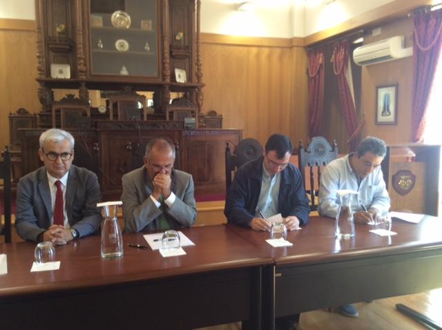 Dois protocolos assinados no Salão Nobre do Município de Fornos de Algodres