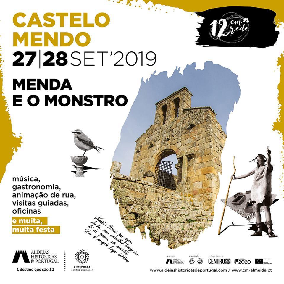 """Aldeia Histórica de Castelo Mendo acolhe festa """"Menda e o Monstro"""""""