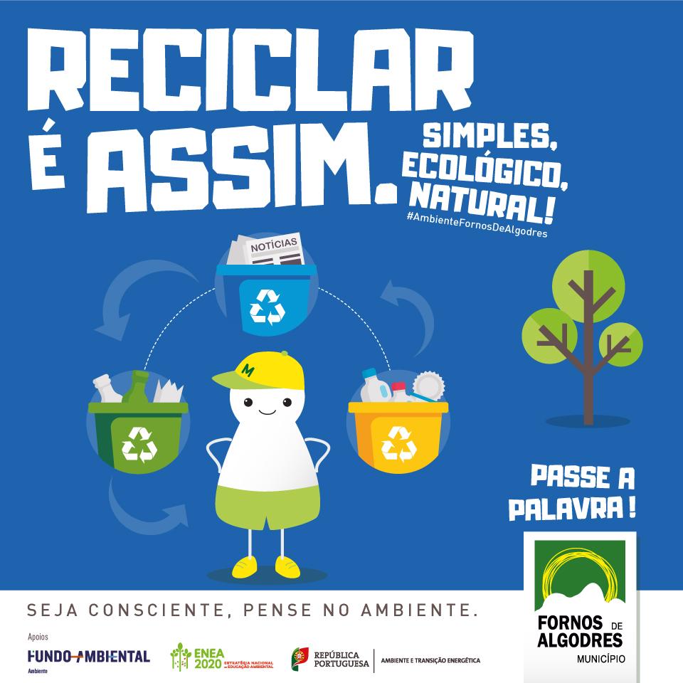 Município de Fornos de Algodres oferece EcoBags