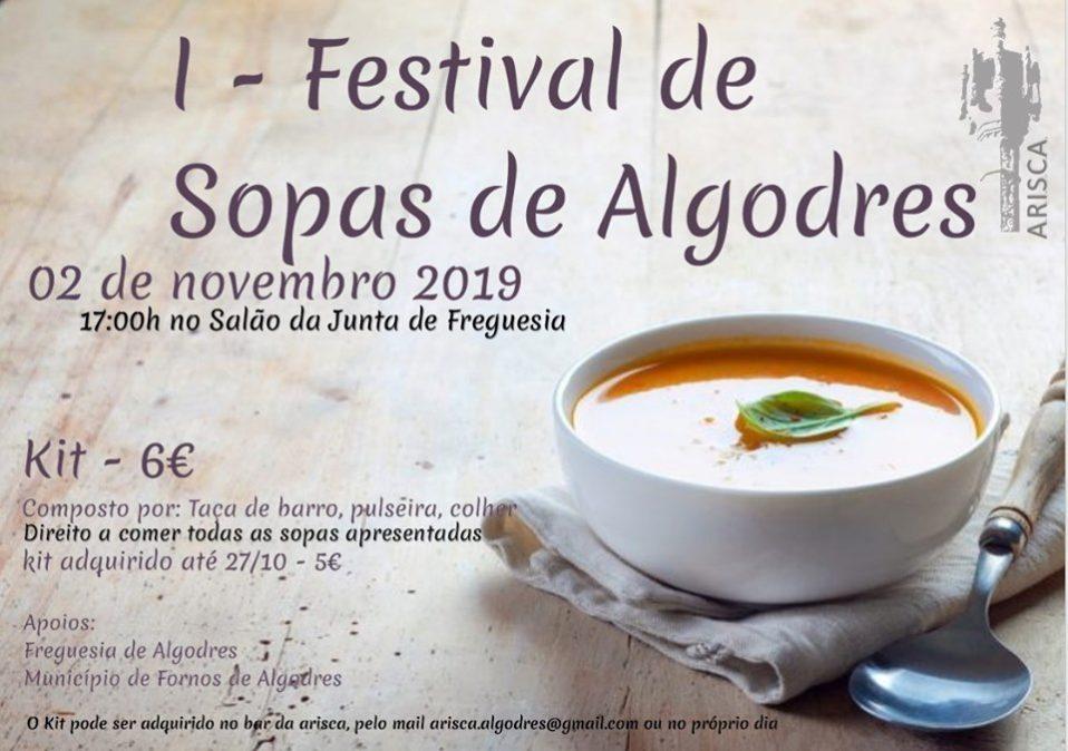 Festival de Sopas este sábado em Algodres