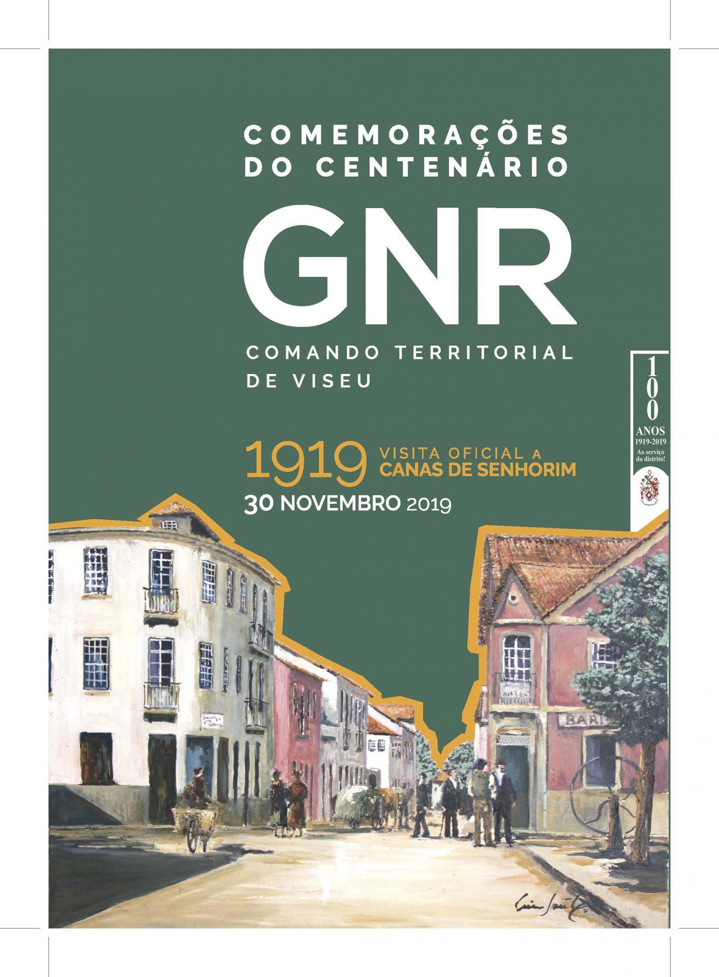 Comemorações do Centenário da GNR do Distrito de Viseu