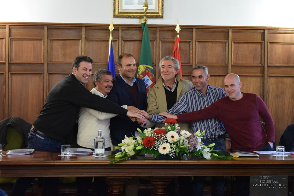 Municípios de Figueira de Castelo Rodrigo, Almeida, Mêda e Pinhel assinam Protocolos com Federação de Andebol de Portugal