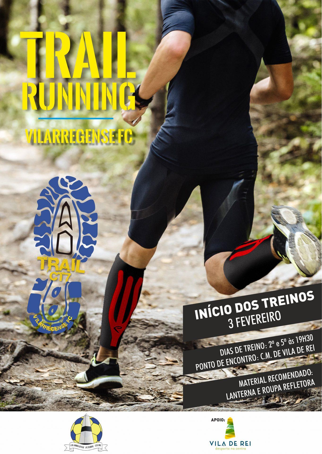 Vilarregense FC inicia treinos de Trail Running