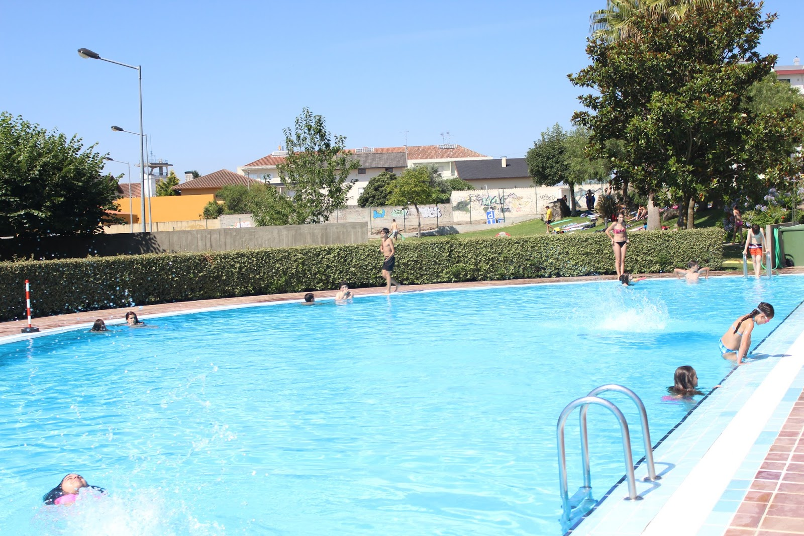 Reabertura da piscinas exteriores de Mangualde