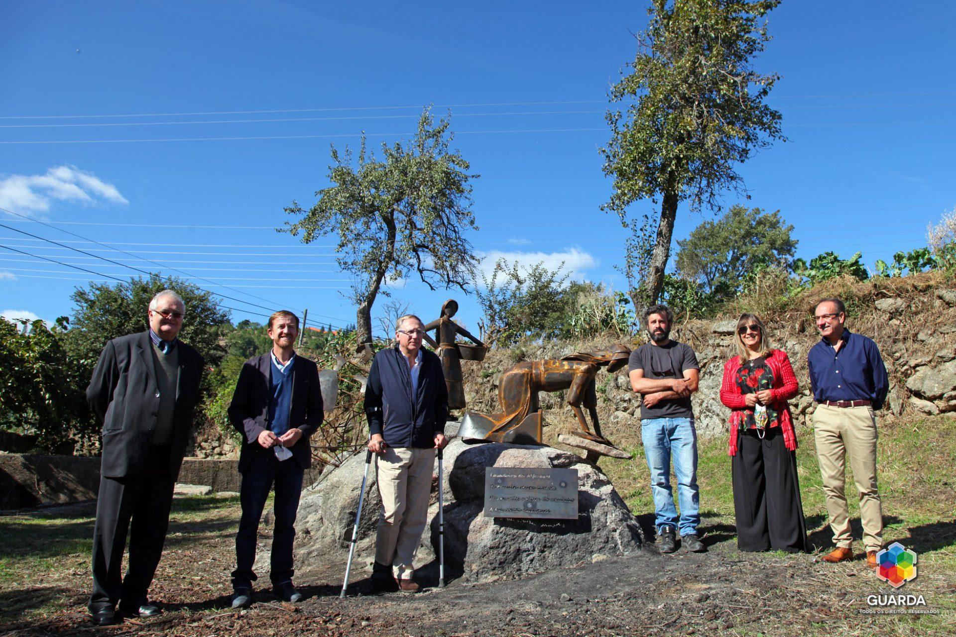 """Guarda: Inauguração do Memorial """"Lavadeira de Alfarazes"""""""