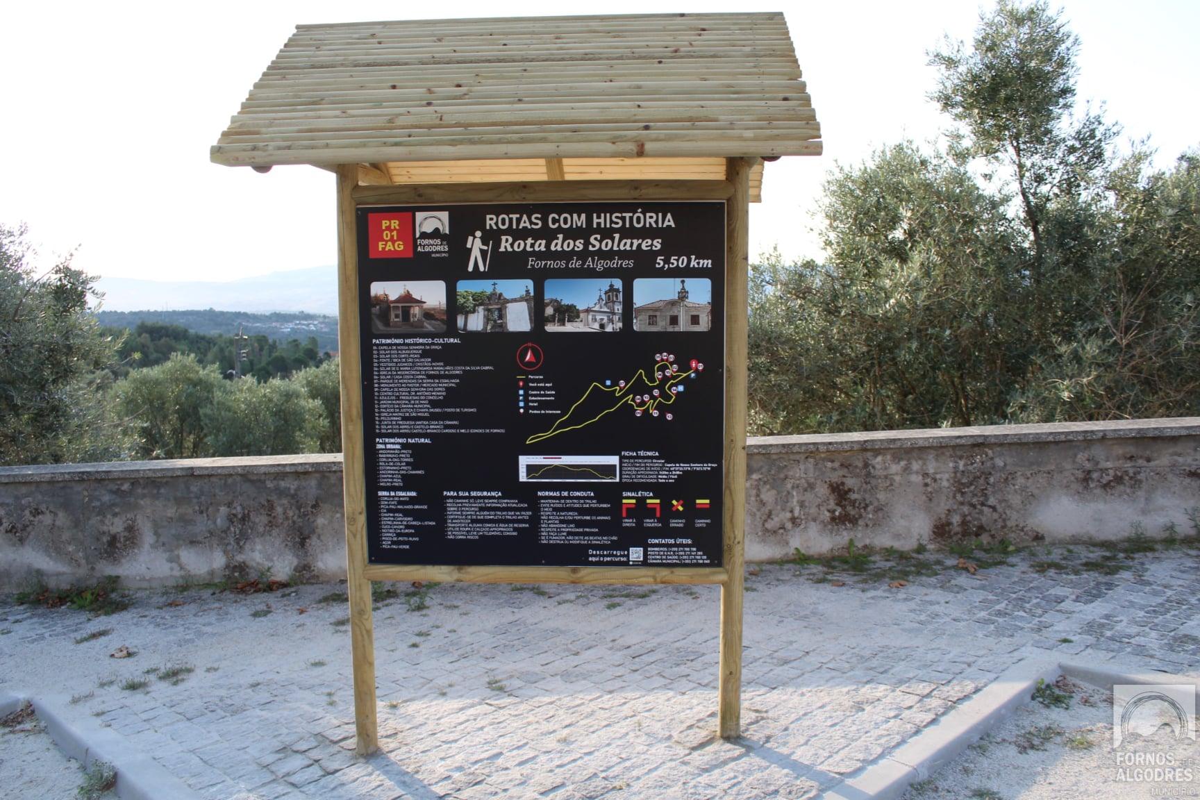 Inaugurado percurso pedestre em Fornos de Algodres