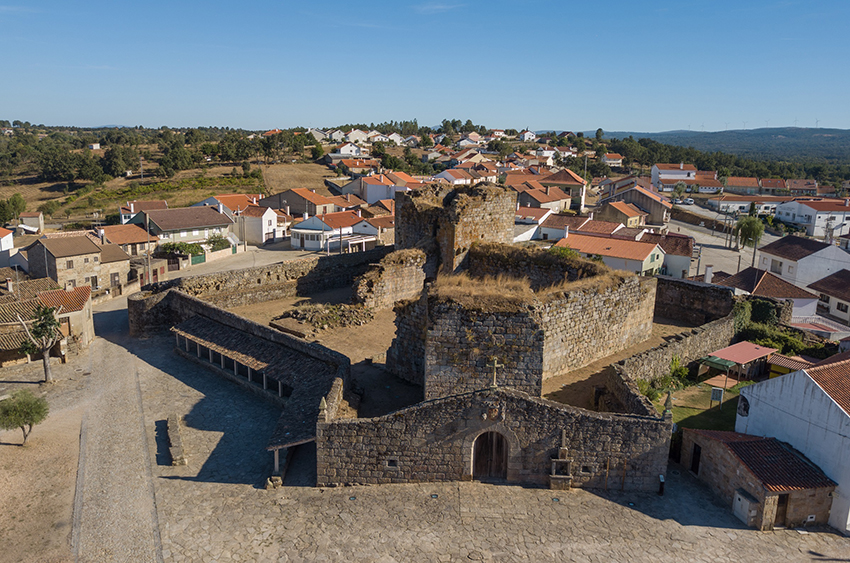 Sabugal investe 470 mil euros na reabilitação do castelo de Alfaiates