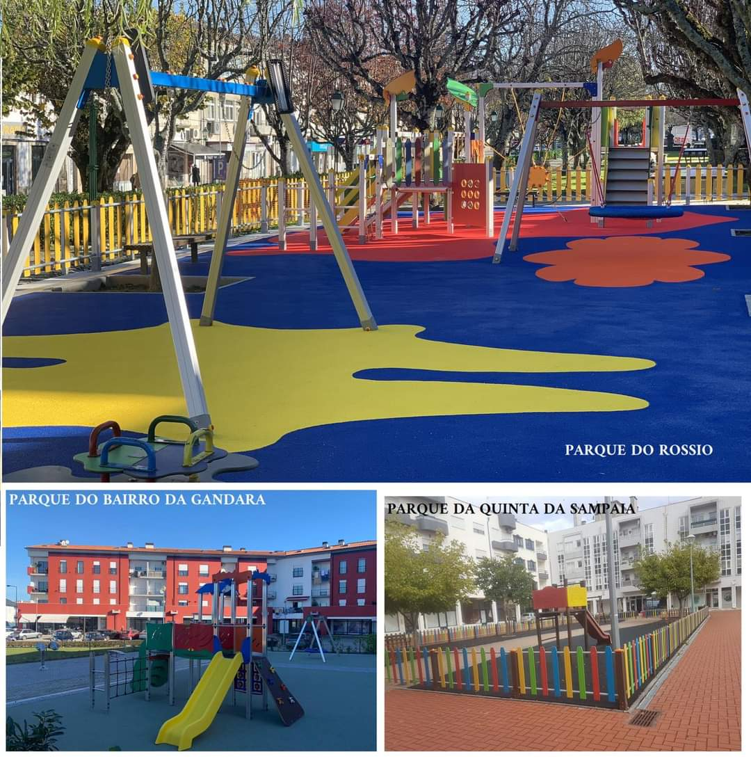 Município de Mangualde investe em parques infantis do concelho